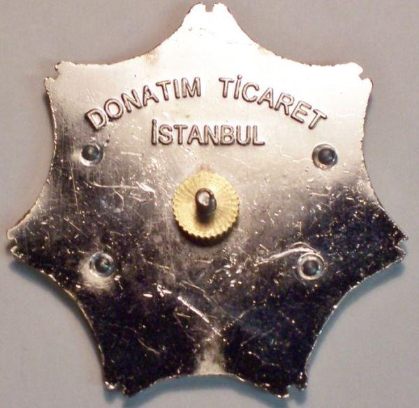 Kurdistan Traffic Police Hat Badge Traffi14