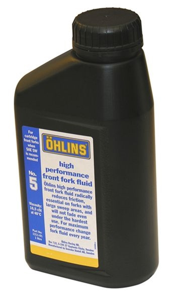 viscosités huile de fourche avec ressort ohlins Ff-flu10