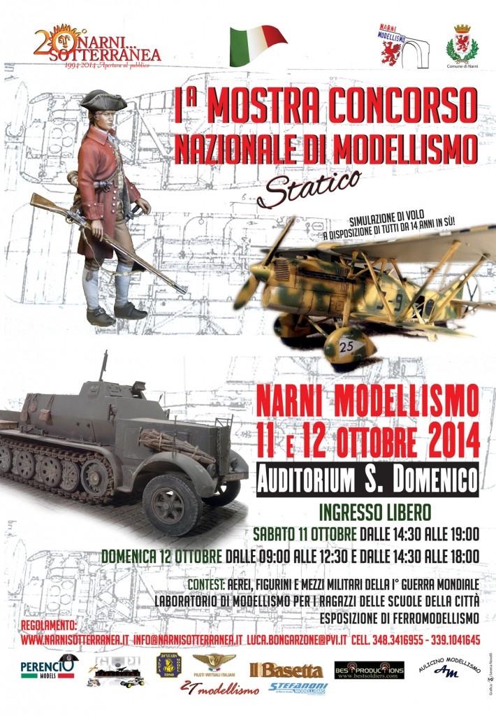 1^ Mostra Concorso Nazionale di Modellismo Statico a Narni Narnim10