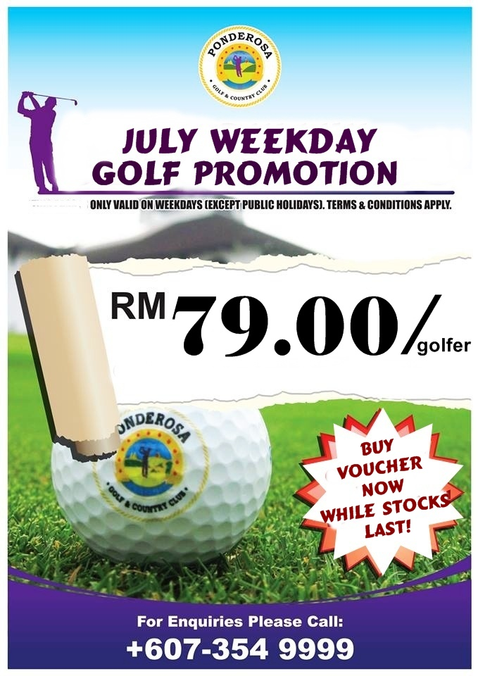 JULY WEEKDAY GOLF PROMOTION July_g11