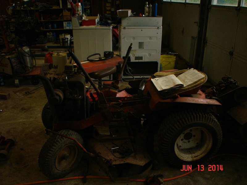 1965 simplicity landlord pulling/work tractor 1960s_10