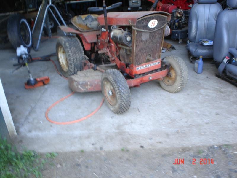 1965 simplicity landlord pulling/work tractor Simpli10