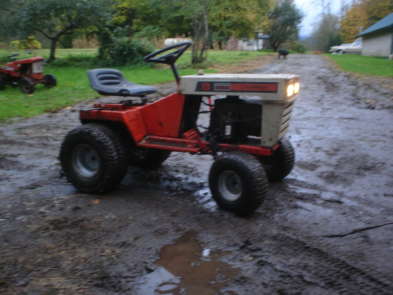 My montgomery ward off-road tractor. The_mo16