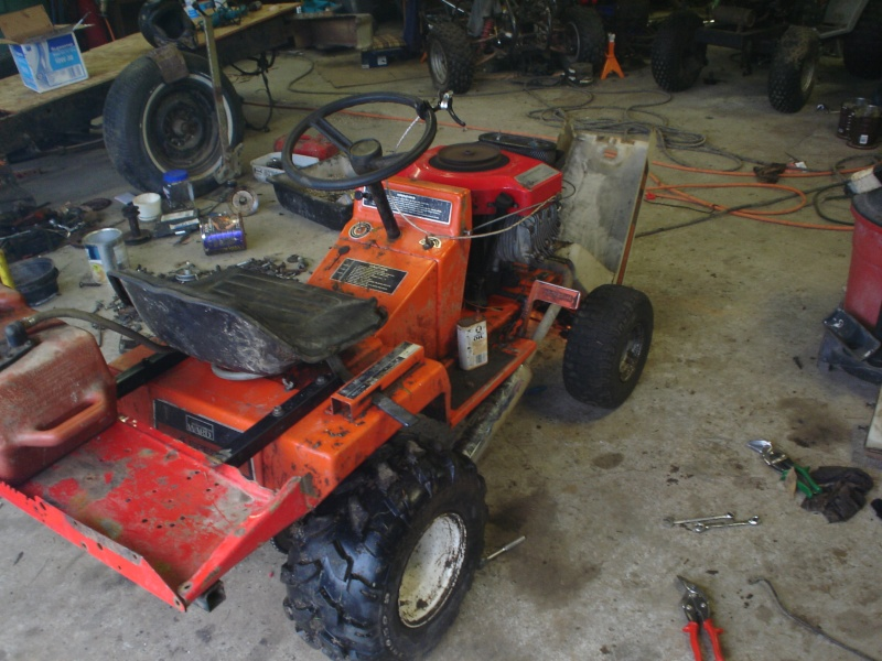 My montgomery ward off-road tractor. The_mo17