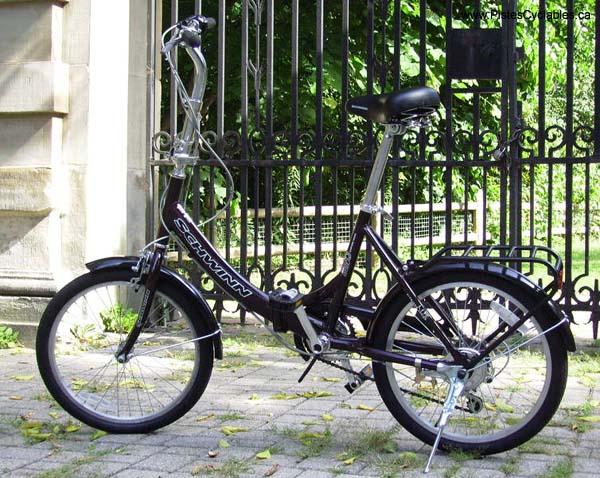 Vélo Pliant A-Bike ultra-léger Schwin10