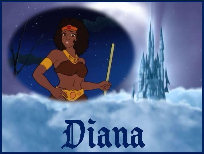 Le Sourire du Dragon [1983] [S.Anim] Diana10