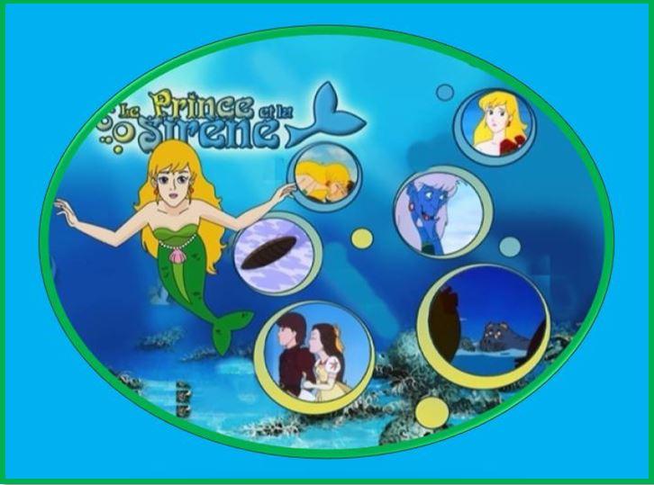 Le Prince et la Sirène [1991] [S.Anim] Logo10
