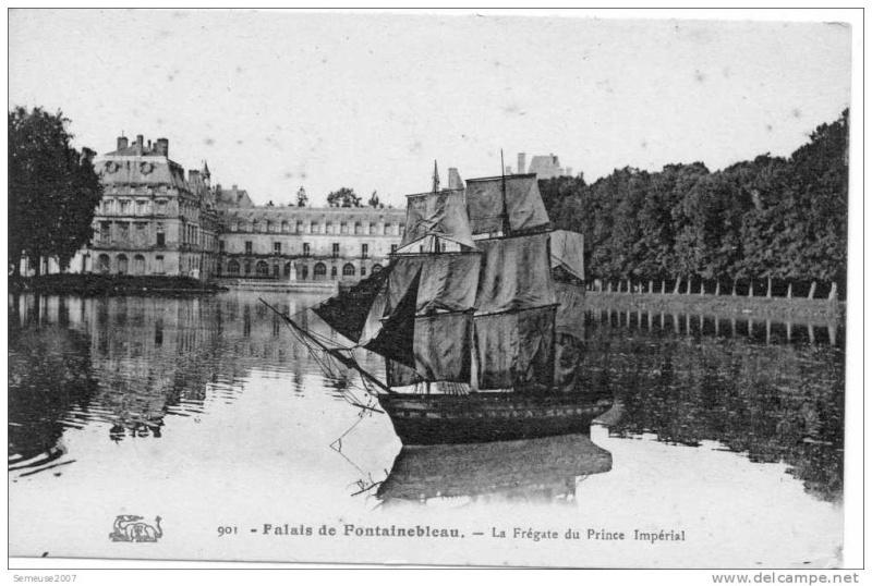 Expo : Napoléon III et Eugénie reçoivent à Fontainebleau - Page 3 Fregat10