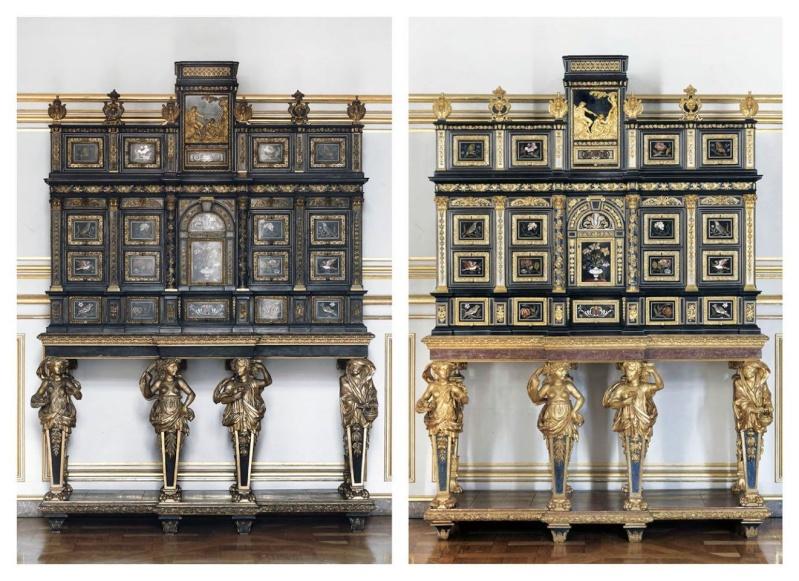 Le 18e aux sources du design, chefs d'oeuvre du mobilier - Page 2 Strabo11