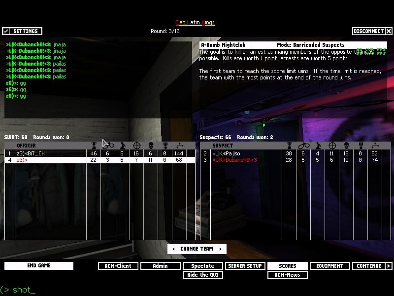 zG)» vs «L K» Shot0013