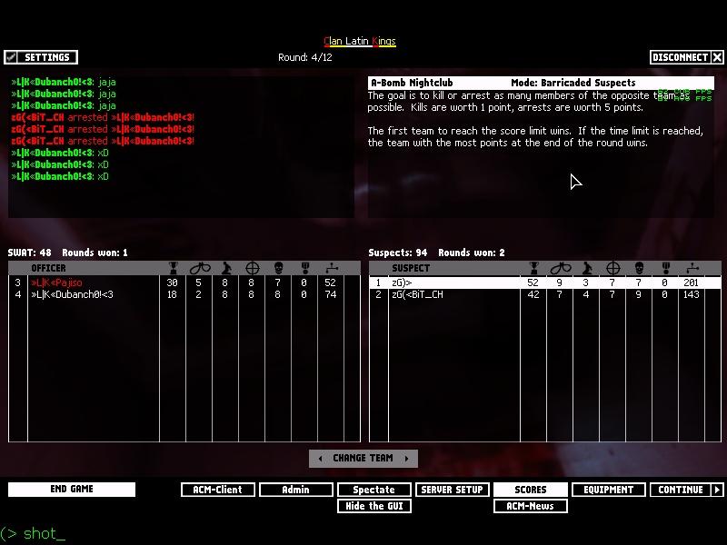 zG)» vs «L K» Shot0014