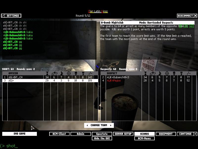zG)» vs «L K» Shot0015