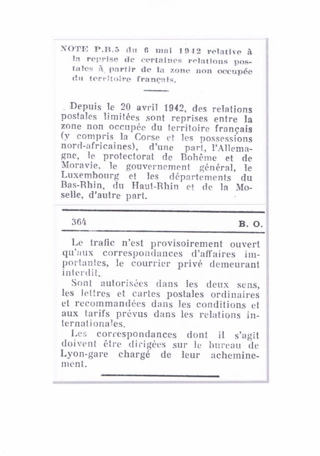 Lettre pour  l'Allemagne avec la  griffe « LYON-GARE » Ccf01011