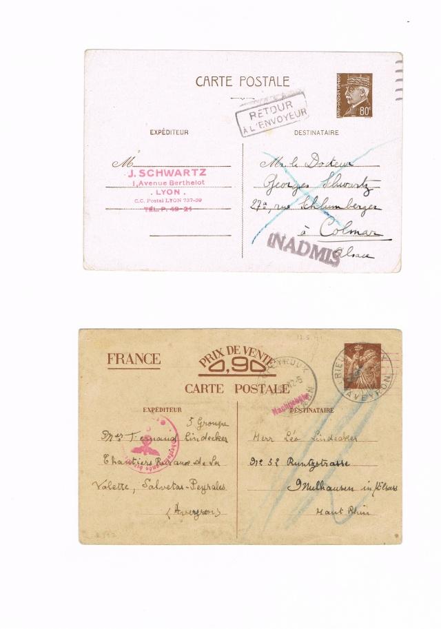 Lettre pour  l'Allemagne avec la  griffe « LYON-GARE » Ccf10017