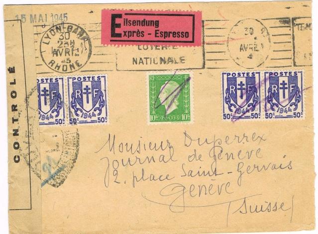 1945 - censure LYY contrôle de la presse Ccf10110