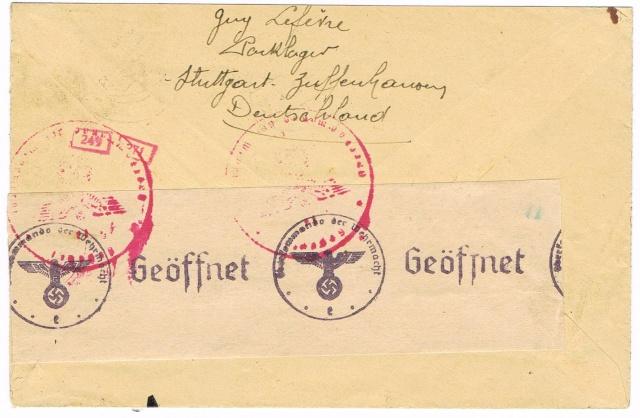 Tarif postal du 25 aout 1944 du Reich vers la France - méconnu des guichetiers et du peuples ?? Ccf11012