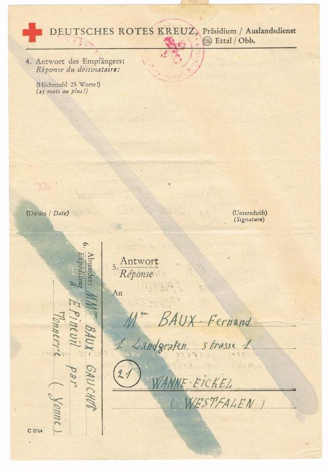 Tarif postal du 25 aout 1944 du Reich vers la France - méconnu des guichetiers et du peuples ?? Ccf11014