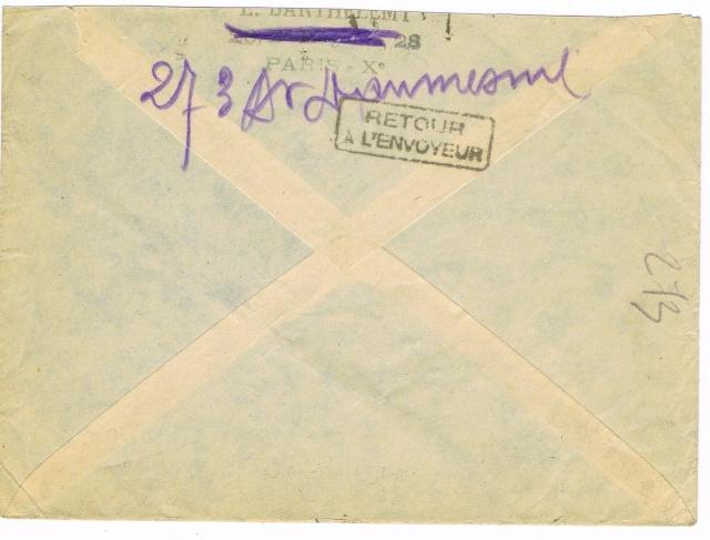 Tarif postal du 25 aout 1944 de la France vers le Reich - méconnu des guichetiers et du peuple ?? Ccf11017