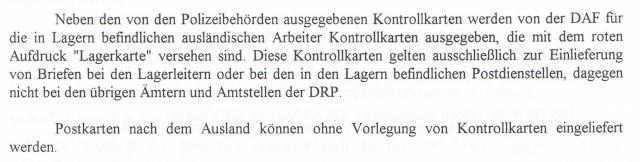 Lettres recommandées des STO ne sont plus admises par la censure de Francfort/M (e) (suite) Ccf22113
