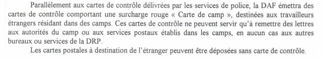 Lettres recommandées des STO ne sont plus admises par la censure de Francfort/M (e) (suite) Ccf22117