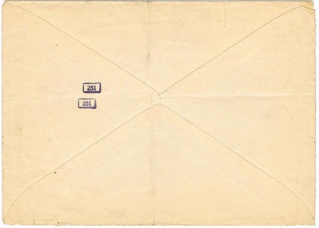 Lettres recommandées en exprès des STO ne sont plus admises temporairement par la censure de Francfort/M (e)  pour la zone sud Ccf23110