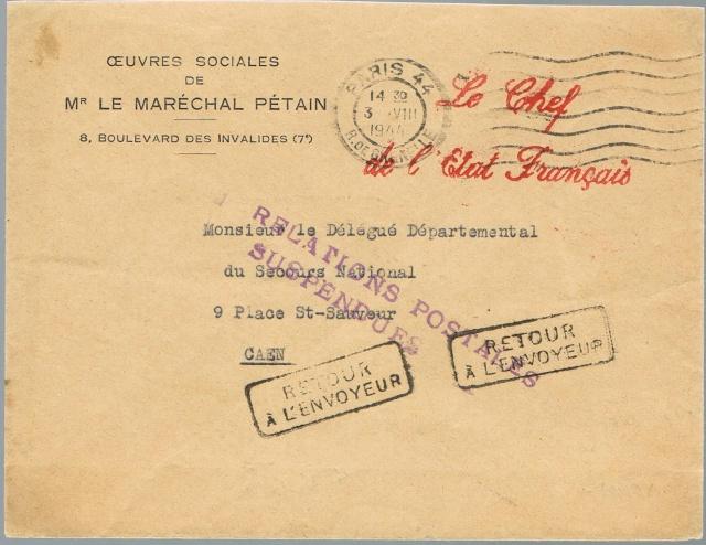 1944 une lettre contrôlée par la censure Ccf30010