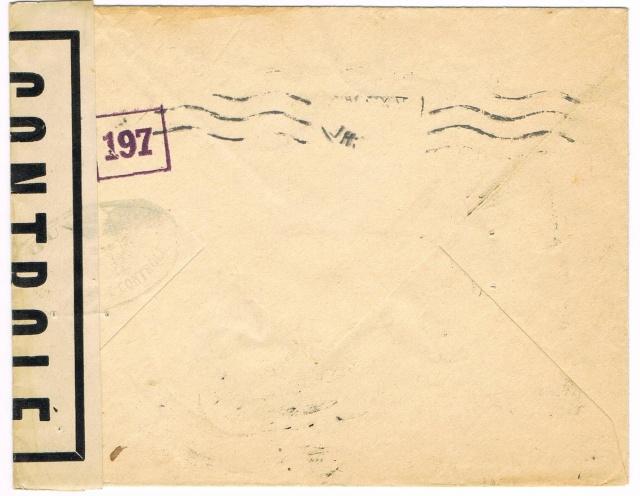 1944 une lettre contrôlée par la censure Ccf30015