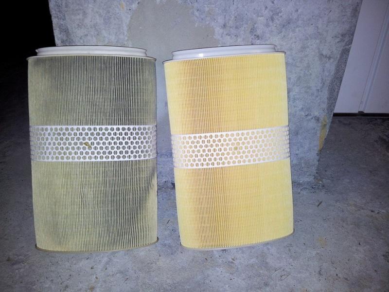 Changement filtre à air sur 987 10533810