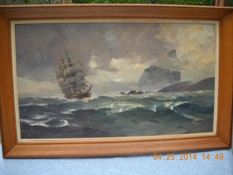 expo peinture de marine à Ham sur Heure 22-26 août 2014 - Page 6 Royon_10