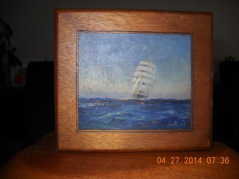 expo peinture de marine à Ham sur Heure 22-26 août 2014 - Page 6 Royon_14