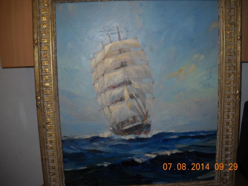 expo peinture de marine à Ham sur Heure 22-26 août 2014 - Page 6 Voilie10