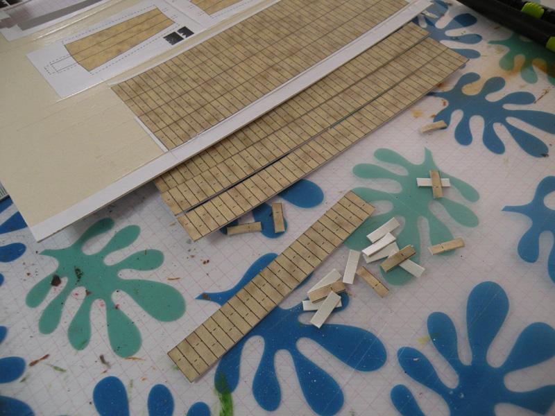 décor carton pour battel T810