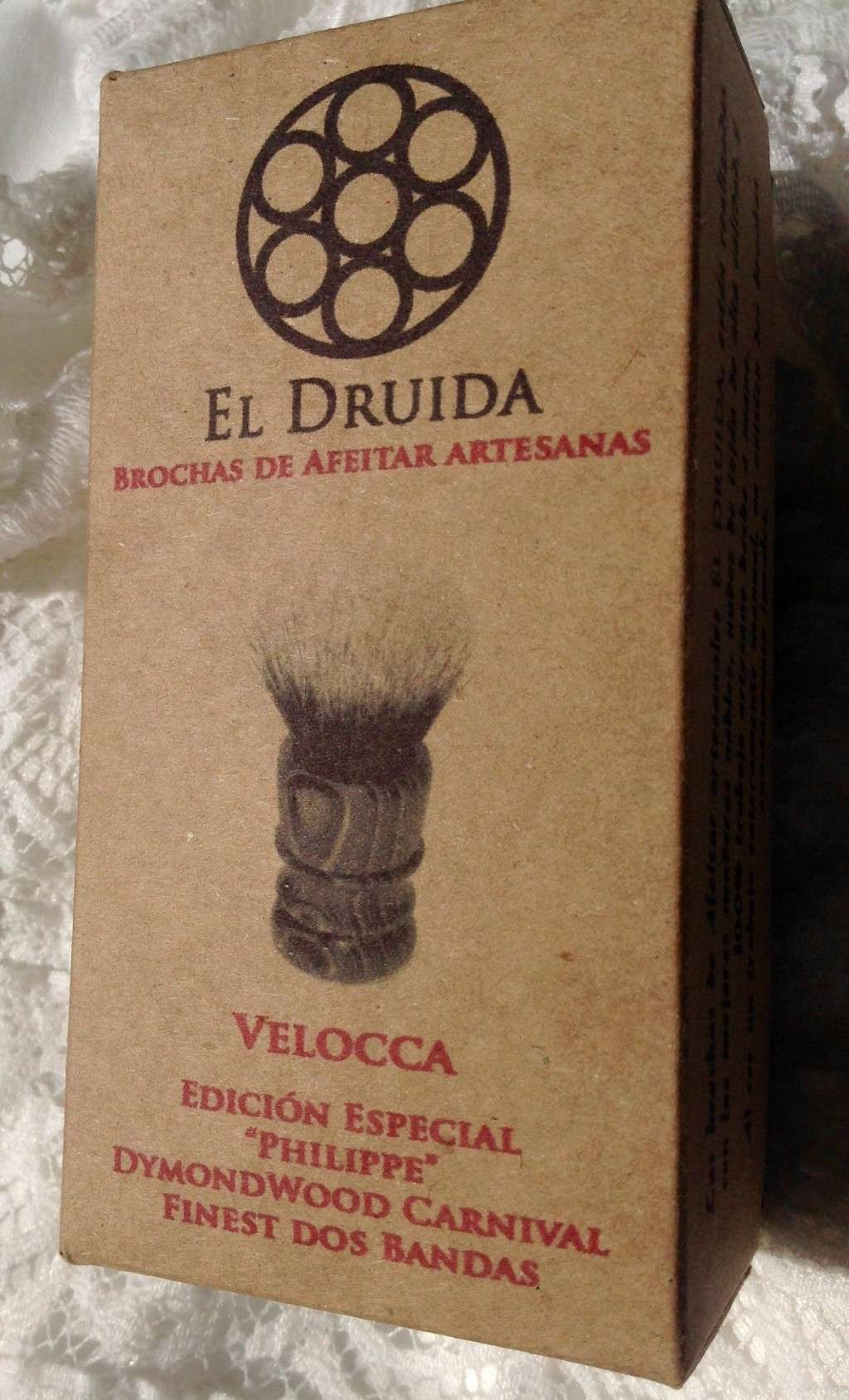 "El Druida Velocca en Dymondwood ""Carnival"" Finest 2 band 24x50 01aeba10"