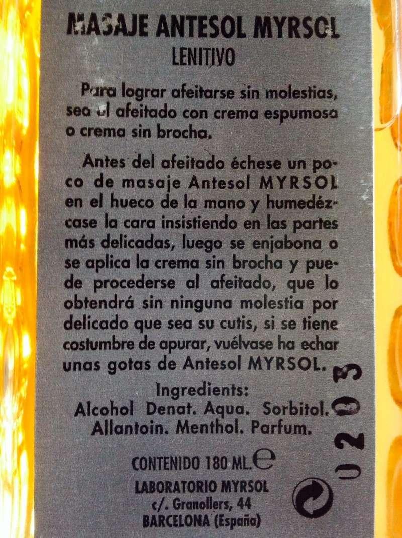 myrsol - Myrsol ANTESOL (Ambré) : Lotion après-rasage Photo_30