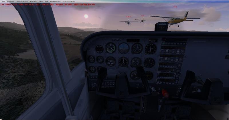 La patrouille en folie version Cessna 2014-910