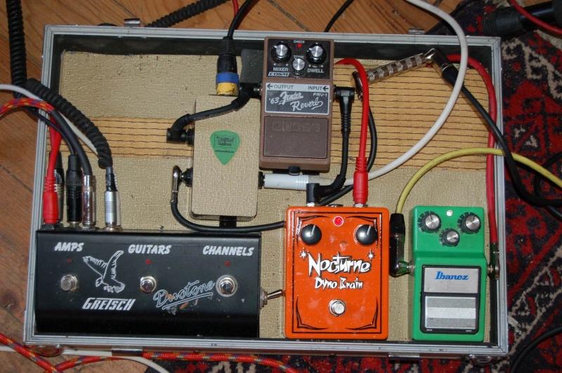 """Construction d'un """"pedalboard"""" Resize35"""