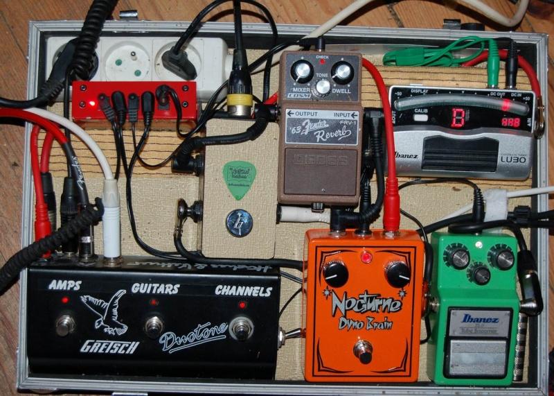 """Construction d'un """"pedalboard"""" Resize36"""