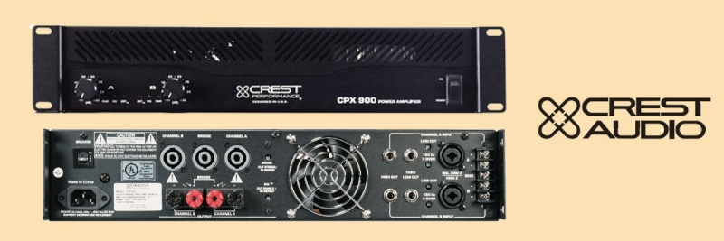Ampli crest CPX900 Cpx90010