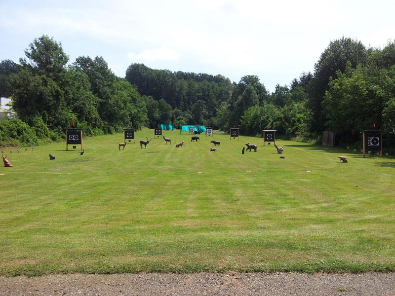 Graz, Parcoursbau für unser Turnier Wir_si10