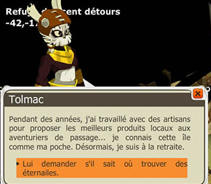 Les quêtes du Dofus Pourpre . Parler14