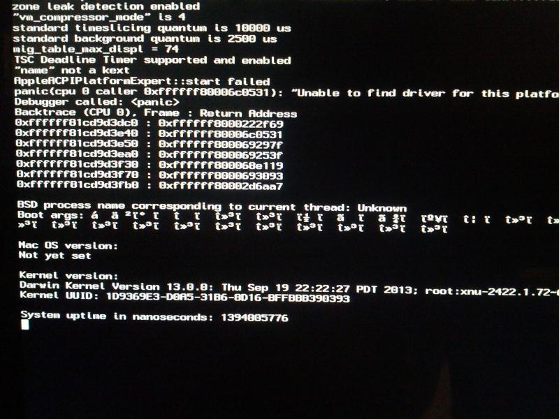 (résolu) Erreur au boot de démarrage de l'installation avec Clover UEFI  Img_2010