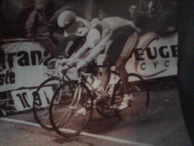 Trophée du CIF 1990 (Montlhéry) Cyril Saugrain (CMA) et Laurent Madur (asptt paris) 11574110