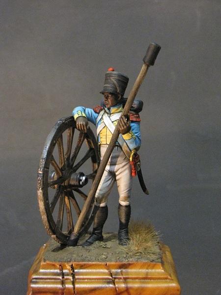 Canonnier de la Compagnie d'Artillerie régimentaire du 7éme Rgt., Royaume de Naples  Img_3011