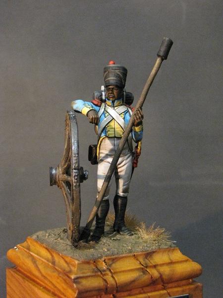 Canonnier de la Compagnie d'Artillerie régimentaire du 7éme Rgt., Royaume de Naples  Img_3012