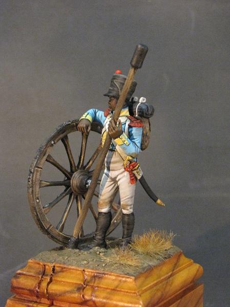 Canonnier de la Compagnie d'Artillerie régimentaire du 7éme Rgt., Royaume de Naples  Img_3013