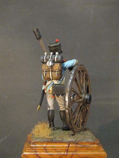 Canonnier de la Compagnie d'Artillerie régimentaire du 7éme Rgt., Royaume de Naples  Img_3015