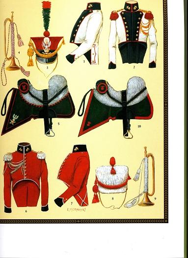 Trompette de Artillerie a cheval, Duchè de Varsovie, 1809 Polacc10
