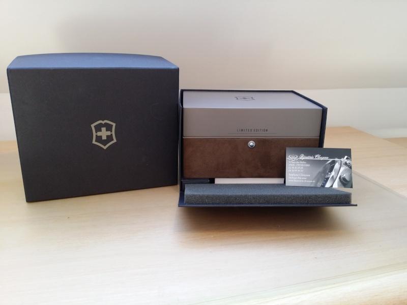 [Revue] Victorinox Airboss Chronograph Edition Limitée Titane 20140718