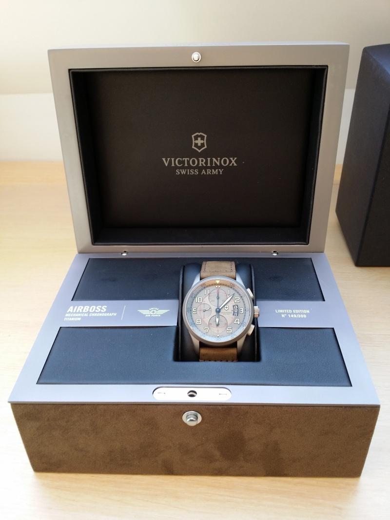 victorinox - [Revue] Victorinox Airboss Chronograph Edition Limitée Titane 20140719