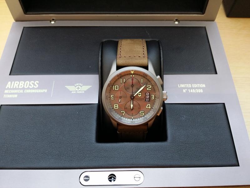 [Revue] Victorinox Airboss Chronograph Edition Limitée Titane 20140720